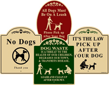 View Our Small Garden Sign Choices. SMALL, DISCREET SIGNS WITH STAKES.