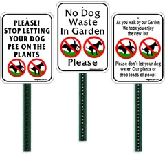 *****Small Garden Signs**********Lawn / Yard Signs********Personalized /  Custom Signs******Spanish/ English Signs.