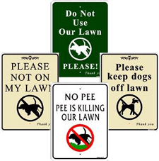 No dog poops signs with stakes and free shipping